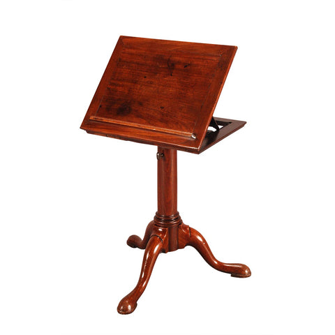 Mahogany Lectern with Tripod Base