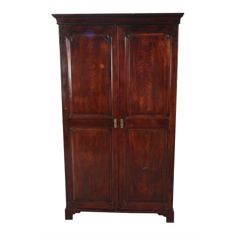 English Mahogany Wardrobe