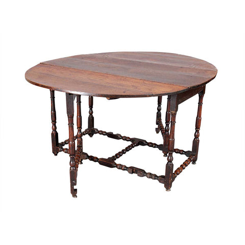 Charles II Period Gate-Leg Table