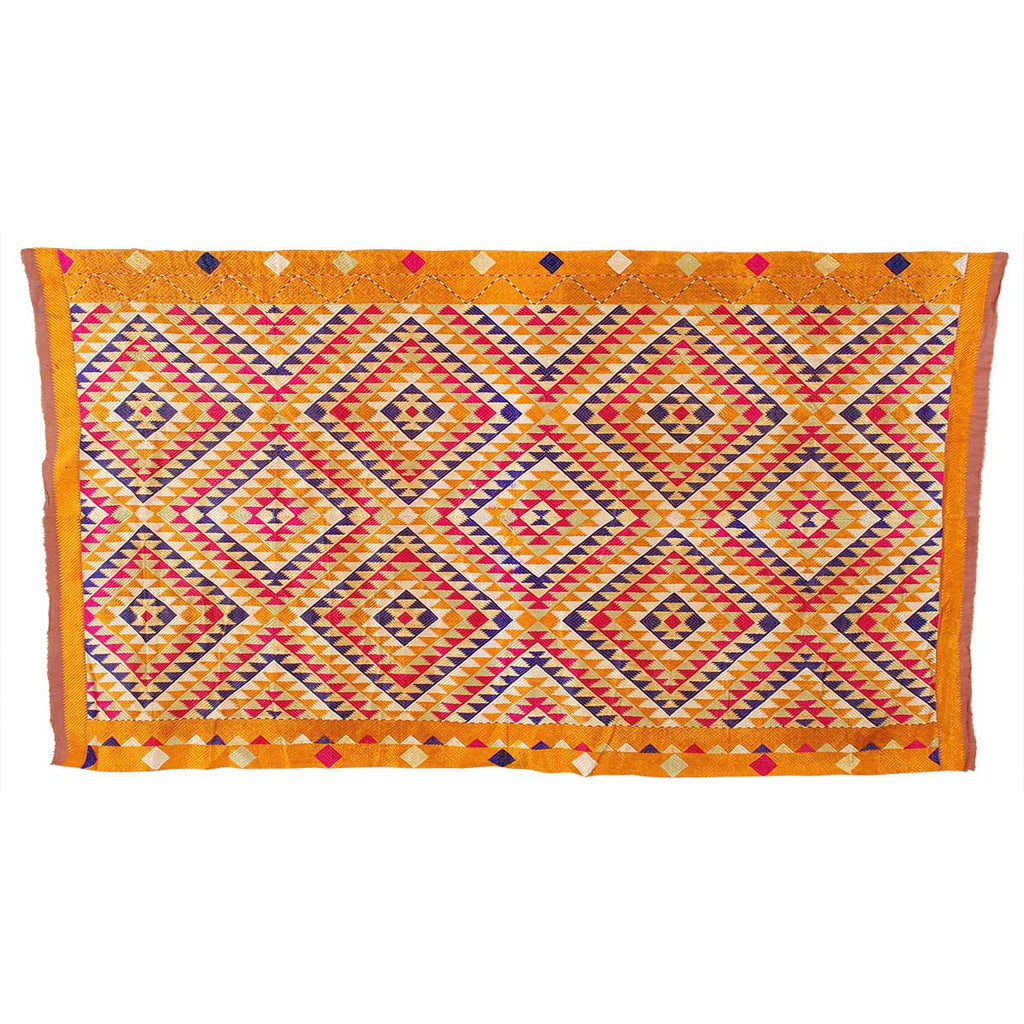 Phulkari Silk Floss Embroidery