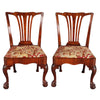 Pair of George II Period Mahogany Side Chairs