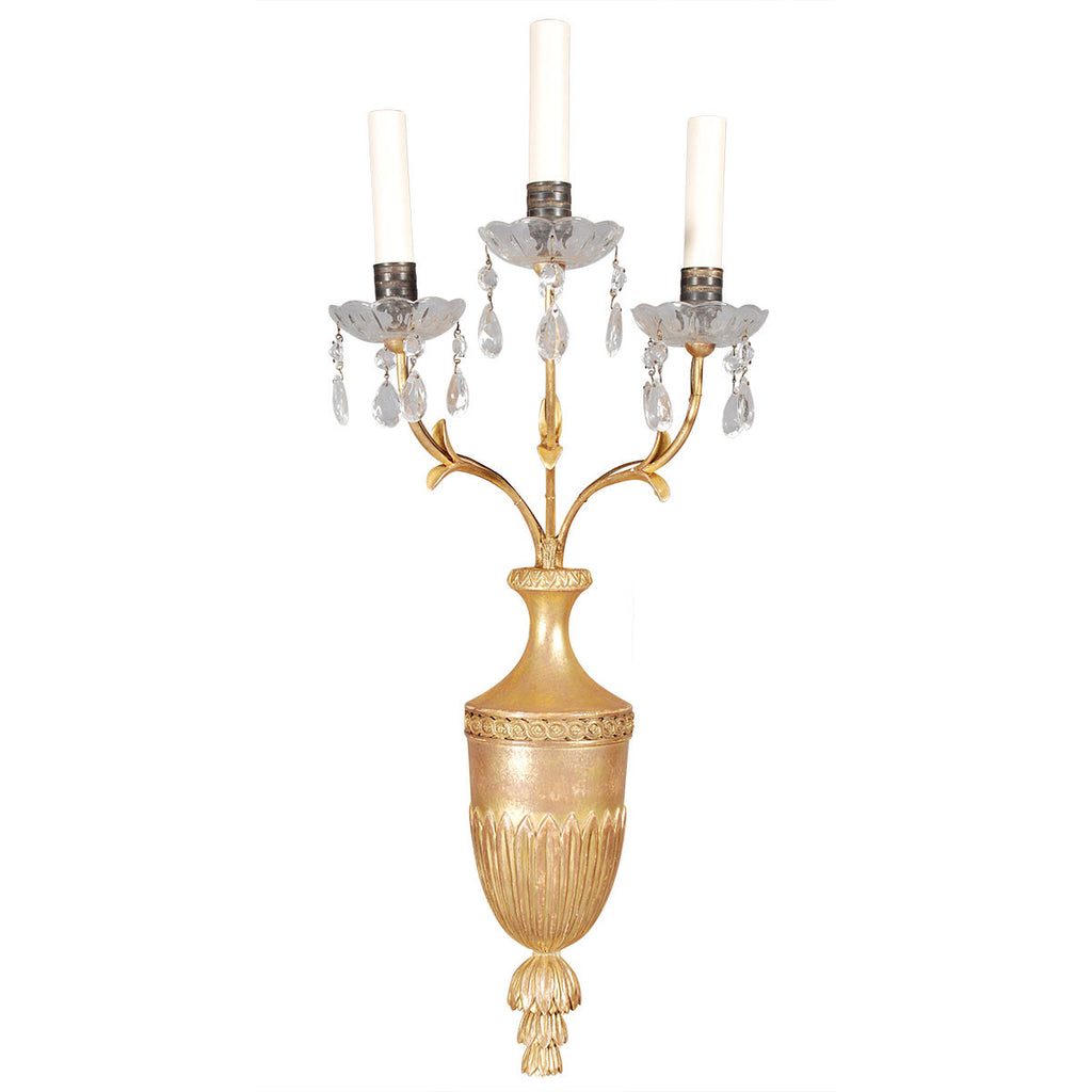 Set of Four Reproduction Sconces