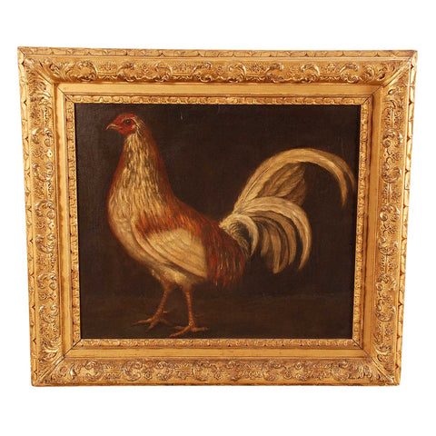 Portrait of a Champion Rooster
