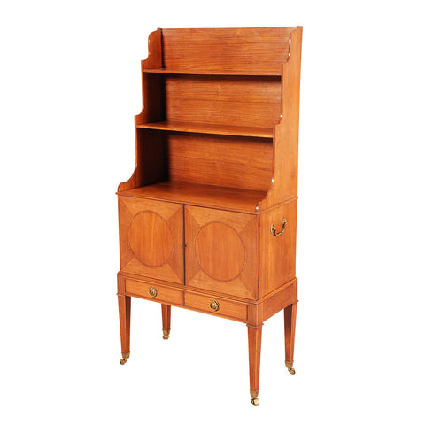 Sheraton Period Satinwood Bookcase