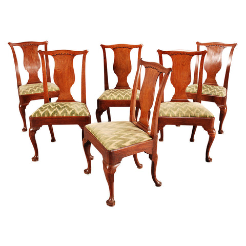 Set of Six George II Period Dining Chairs