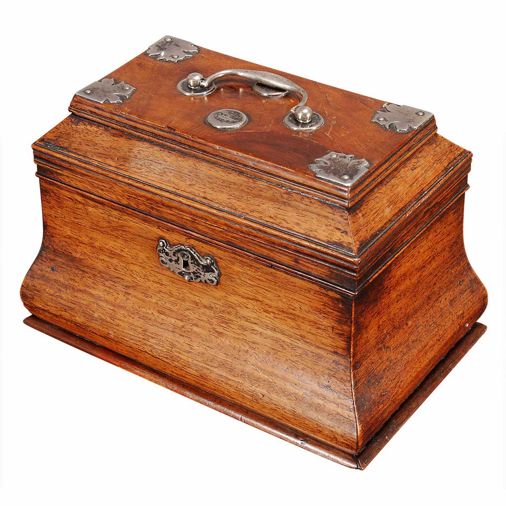Bombe'-Shaped Tea Caddy