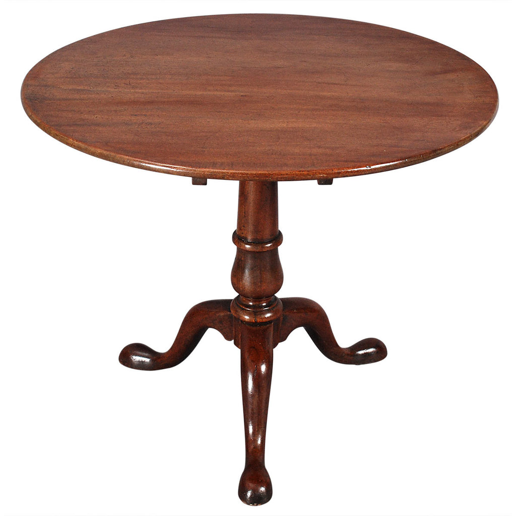 "Mahogany Tripod Table-36"" diameter"