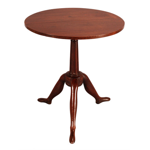 1800-1899 19th Century Shaped Elm Center Occasional Table Tables