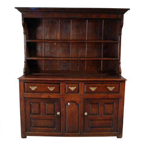 Welsh Dresser with Hooded Rack