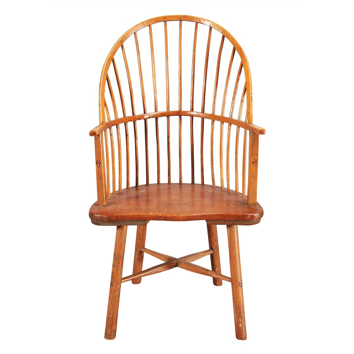 DoubleBow Windsor Chair with XStretchers Jayne Thompson Antiques