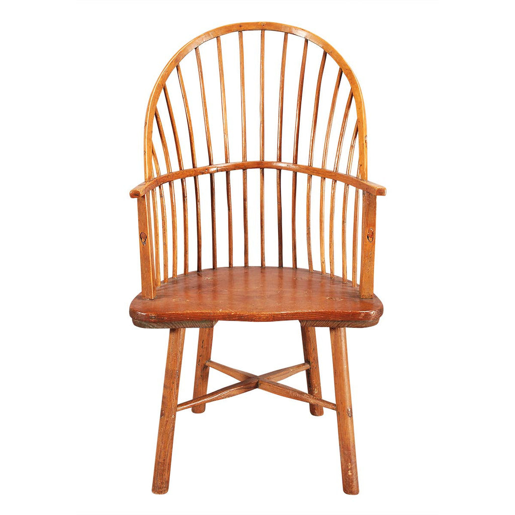 Double-Bow Windsor Chair with X-Stretchers