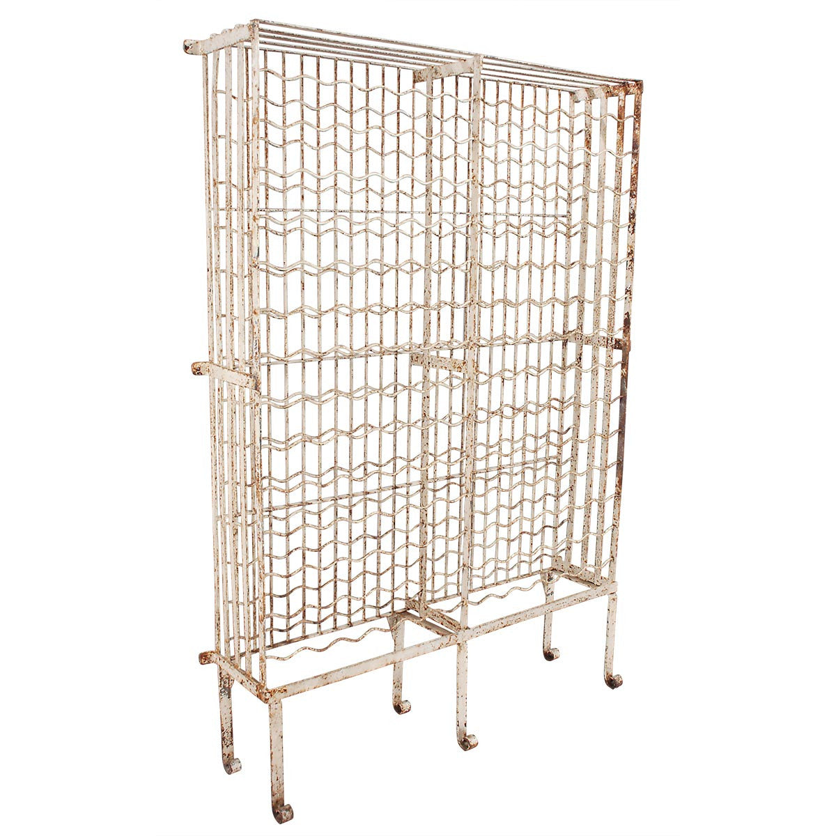 wire wine rack. Painted Wire Wine Rack