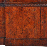 A 18th century extremely long bookcase of double-breakfronted form. view 2