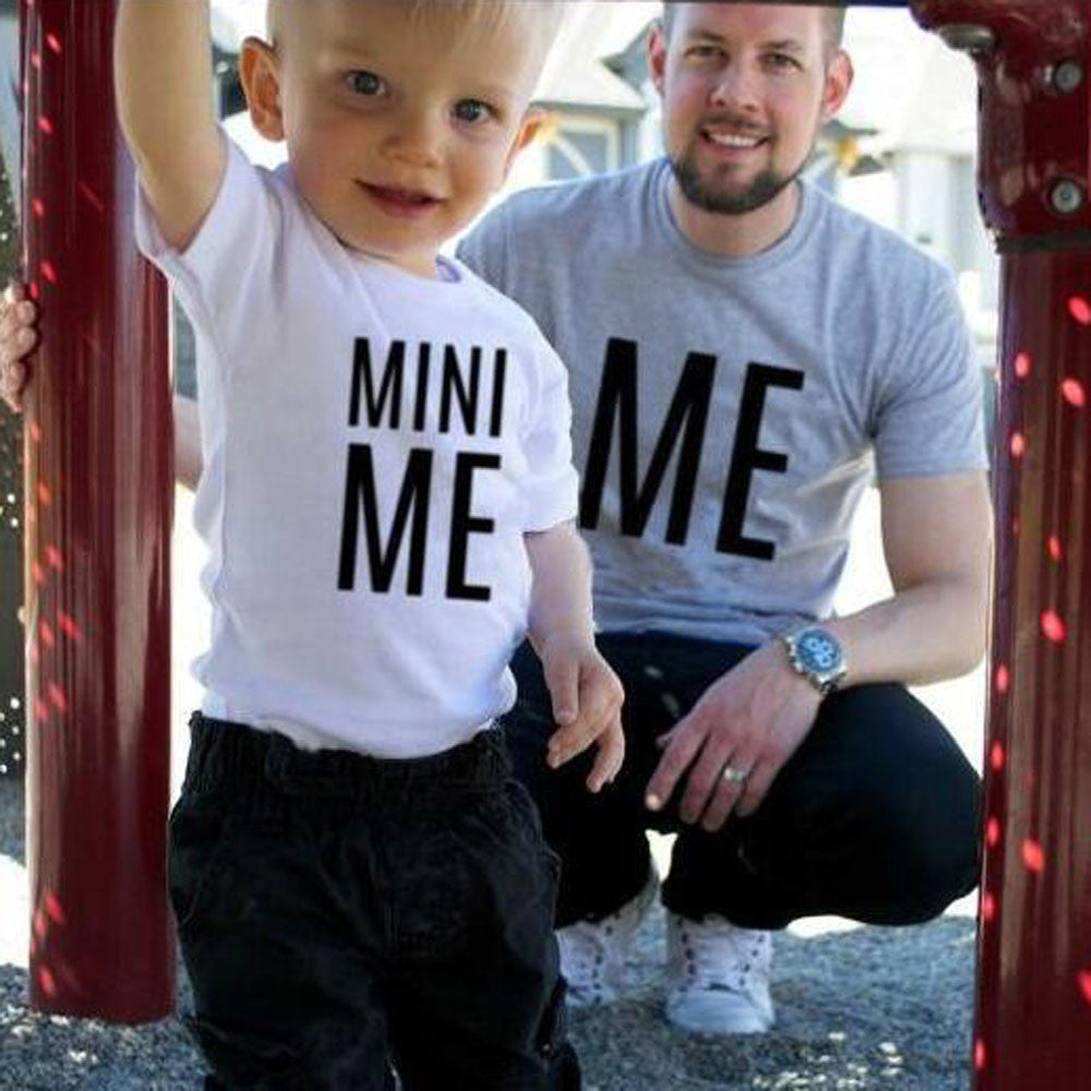 Me and Mini Me Matching T-Shirts