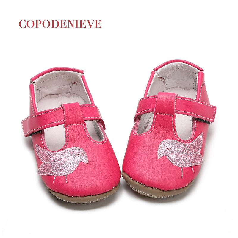 Baby bird style leather shoes
