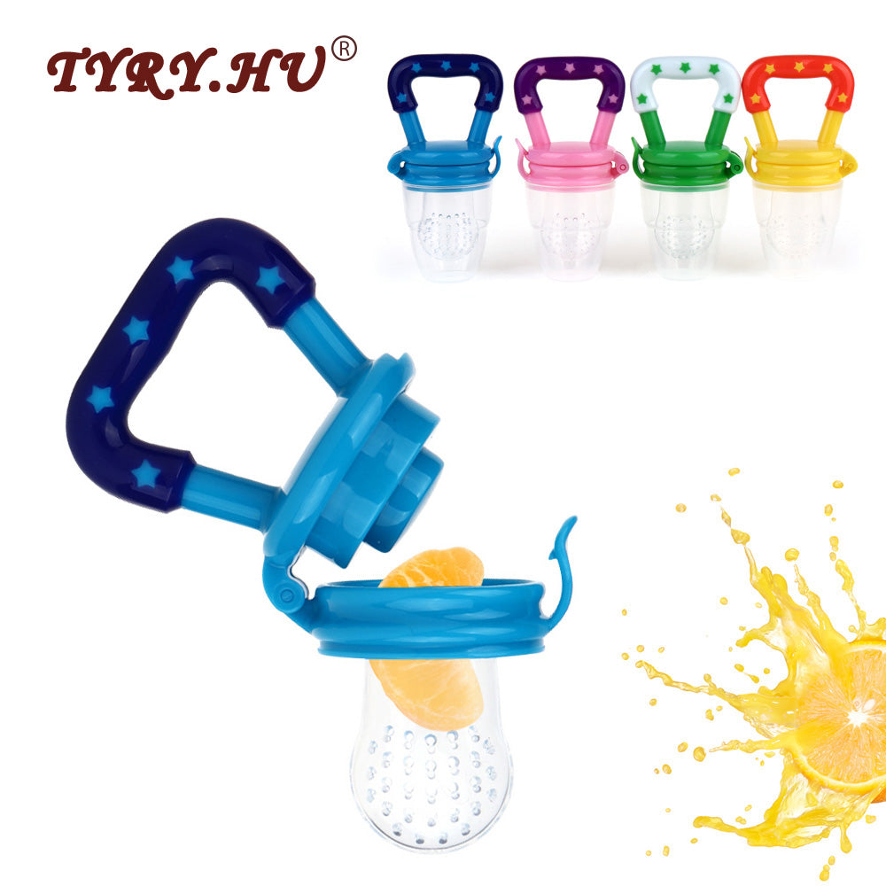 Fruits Nipple Teether BPA Free Silicone