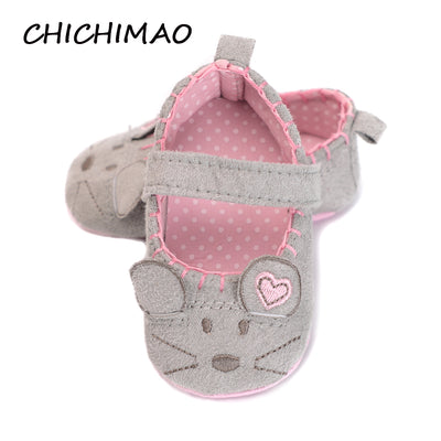 Kid Anti-slip On Shoes Crib Hook & Loop