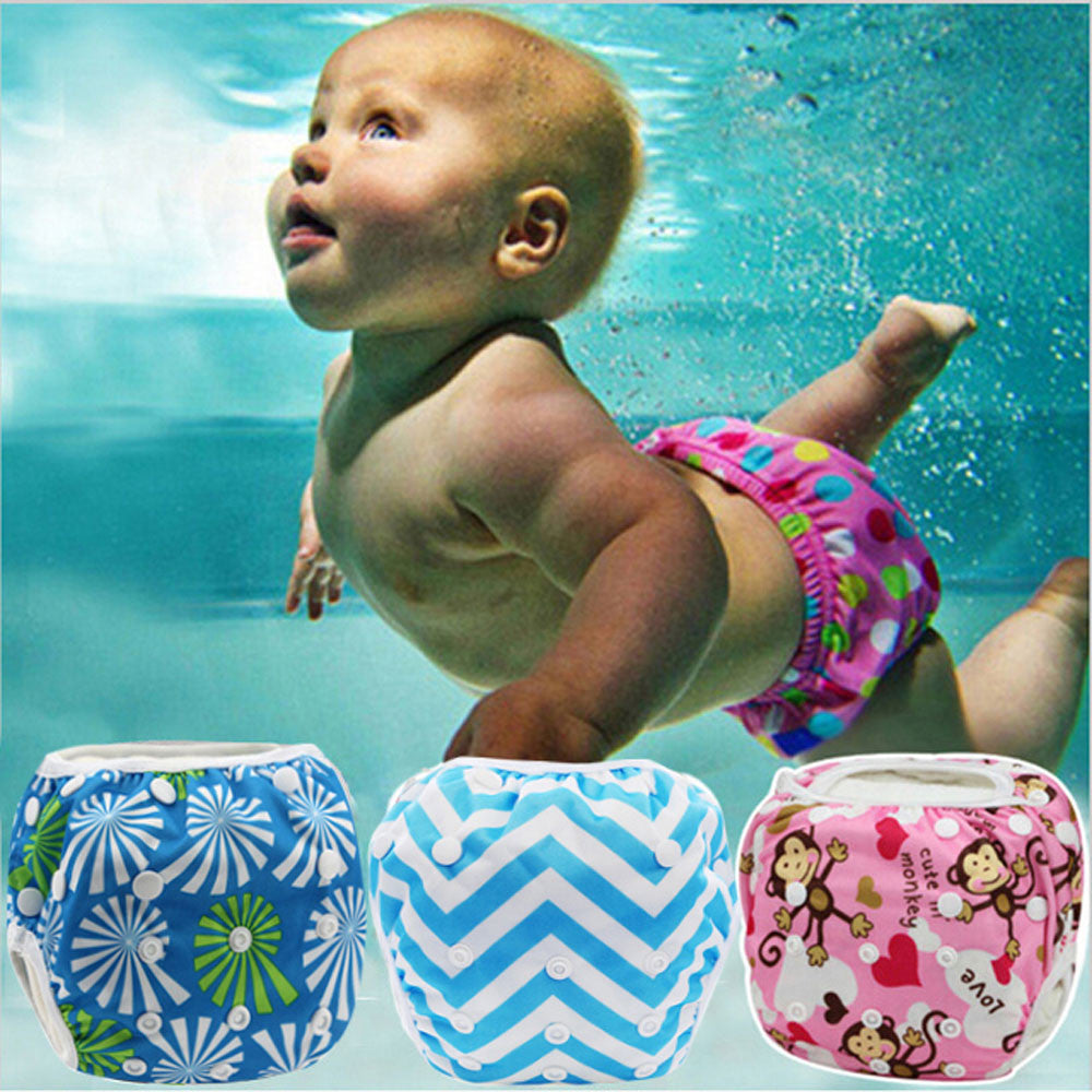Baby Boys Cute Pattern Swimwear
