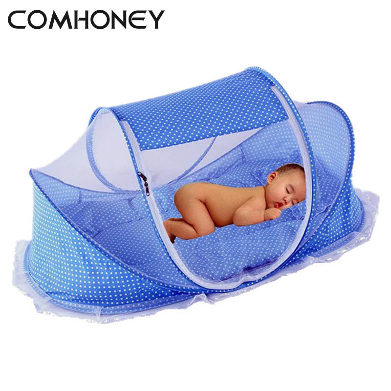 Baby Cribs Bed With Pillow Mat
