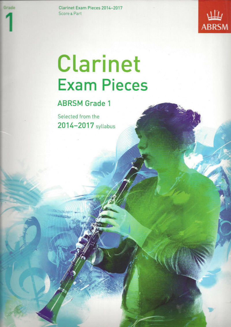 ABRSM Exam Pieces for Clarinet 2014-2017- Score and Part