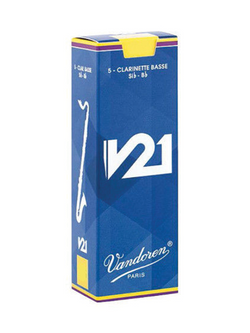 Vandoren V21 Bass Clarinet Reeds Box of 5