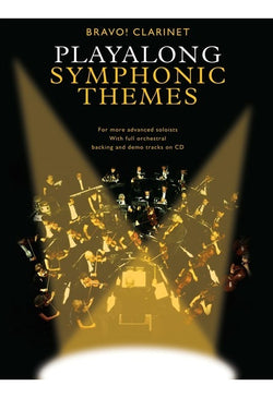 Bravo! Clarinet Playalong Symphonic Themes