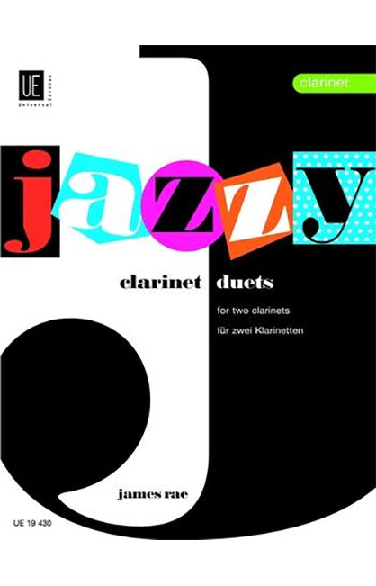 Jazzy Clarinet Duets - James Rae