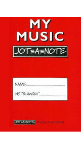 My Music Jot a Note - Spartan Press