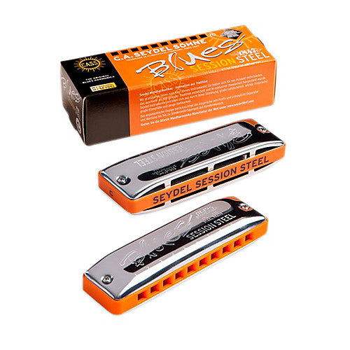 Seydel Blues Session Steel Harmonica