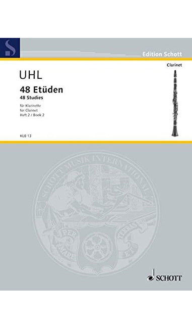 48 Studies for Clarinet - Uhl
