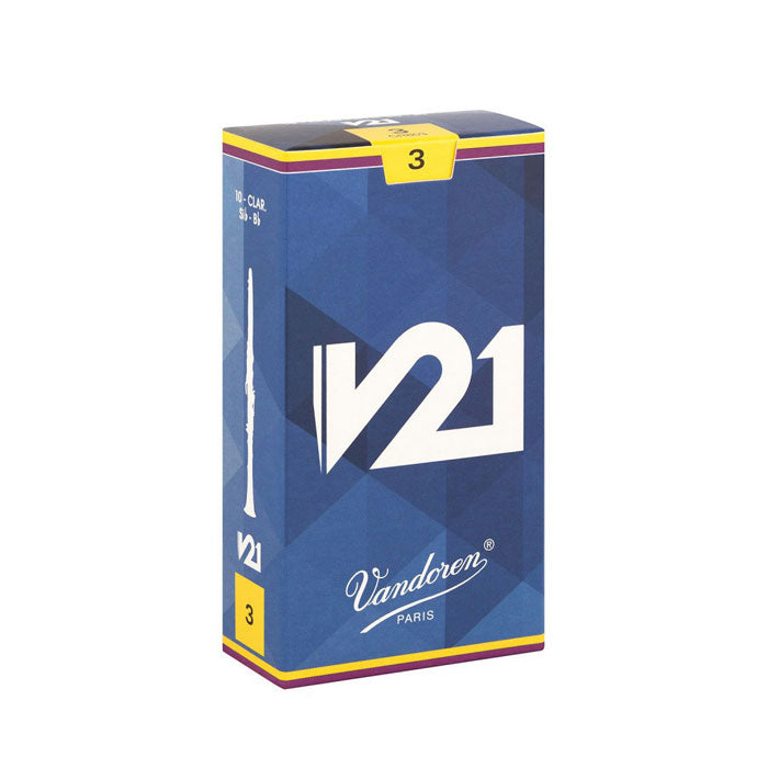 Vandoren V21 Eb Clarinet Reeds Box of 10