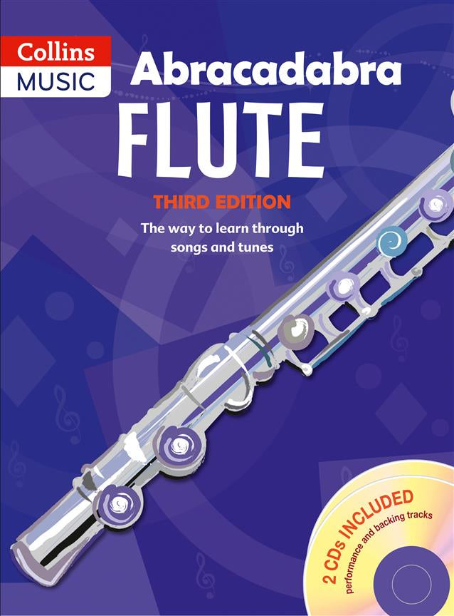 Abracadabra Flute - 3rd Edition with CD