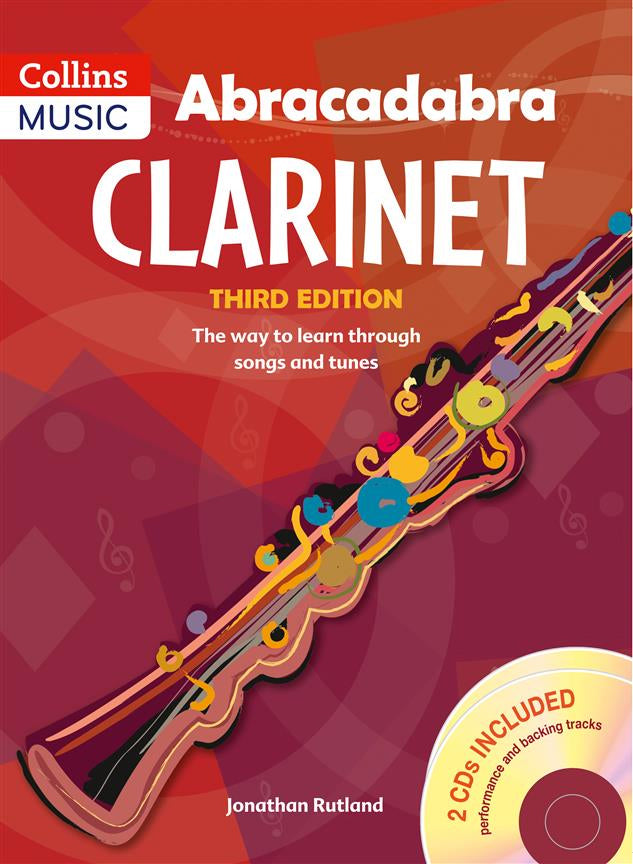 Abracadabra Clarinet - 3rd Edition with CD