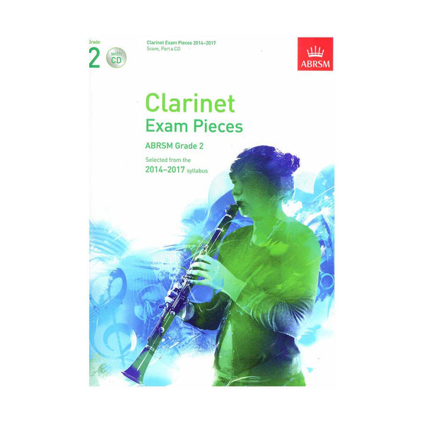 ABRSM Exam pieces for clarinet 2014-2017 - Score, Part and CD
