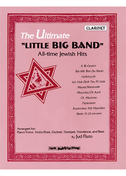 "The Ultimate ""Little Big Band"" All-time Jewish Hits - Clarinet"
