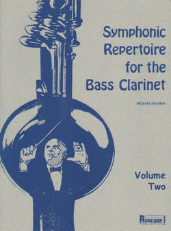 Symphonie Repertoire for the Bass Clarinet