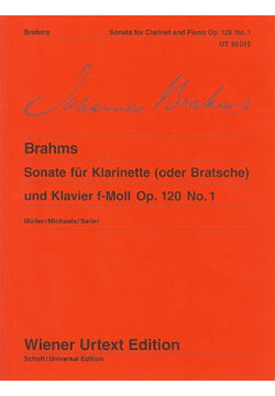 Sonata for Clarinet and Piano No. 1 in F minor - Brahms