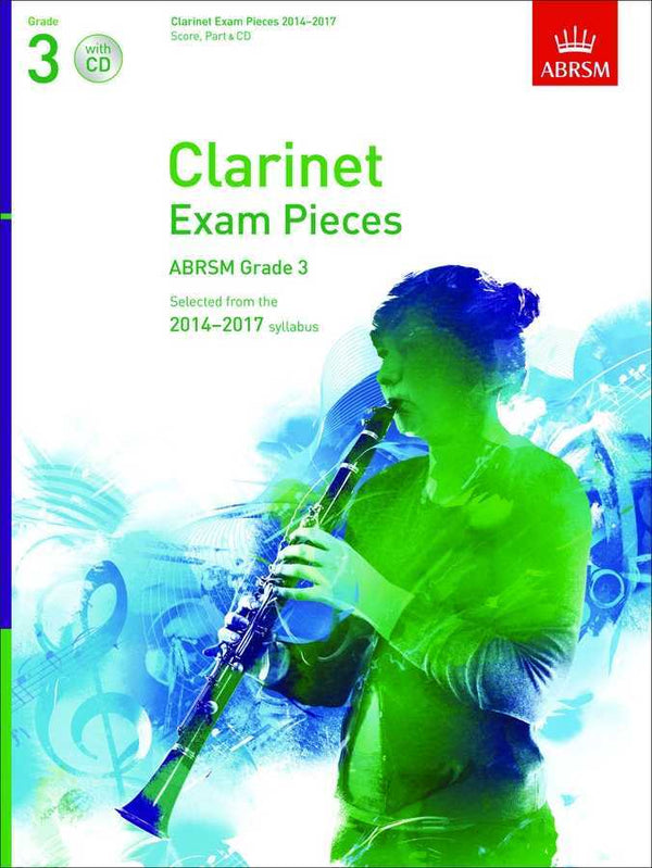 ABRSM exam pieces for Clarinet 2014-2017 - Part Only