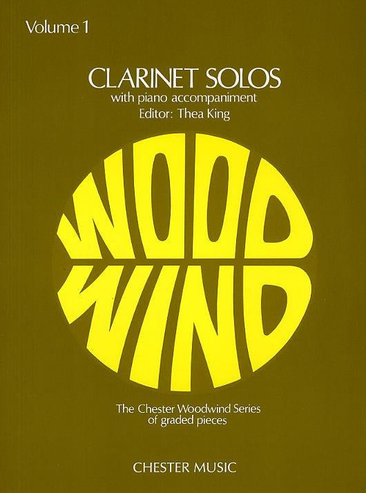 Clarinet Solos - The Chester Woodwind Series Volume 1
