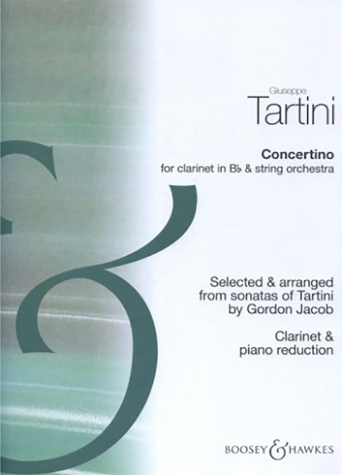 Giuseppe Tortini - Concertino For Bb Clarinet And Piano