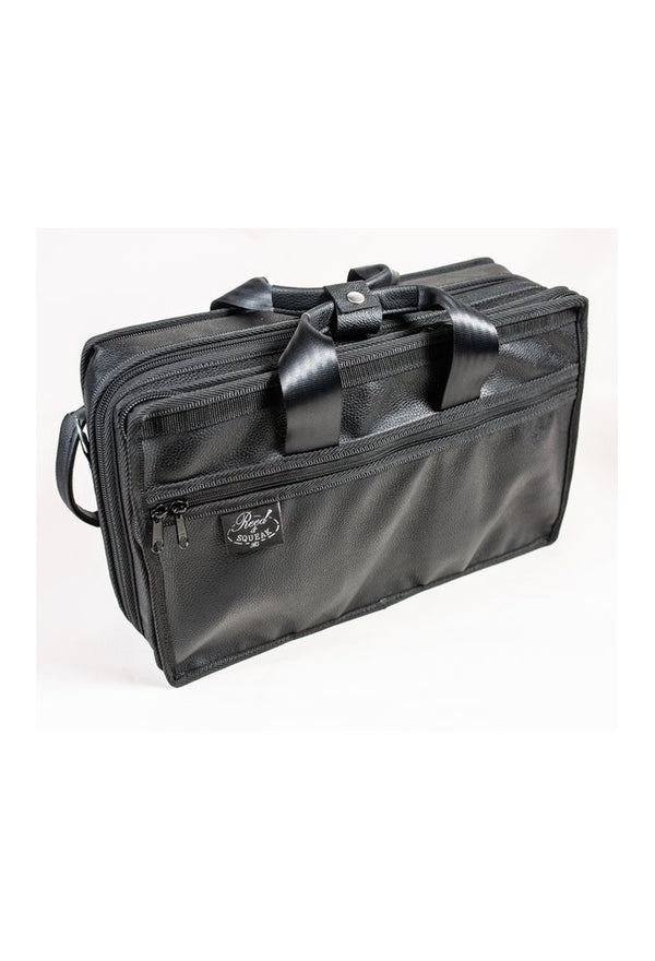 Reed & Squeak Compact Double Clarinet Case in Eco Leather