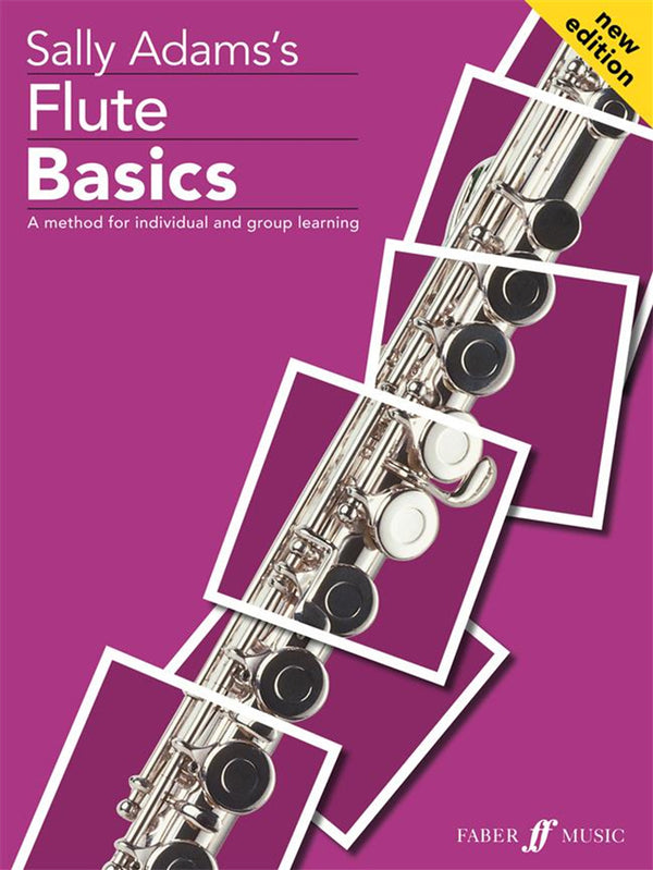 Sally Adam's Flute Basics - Pupil's Book with CD