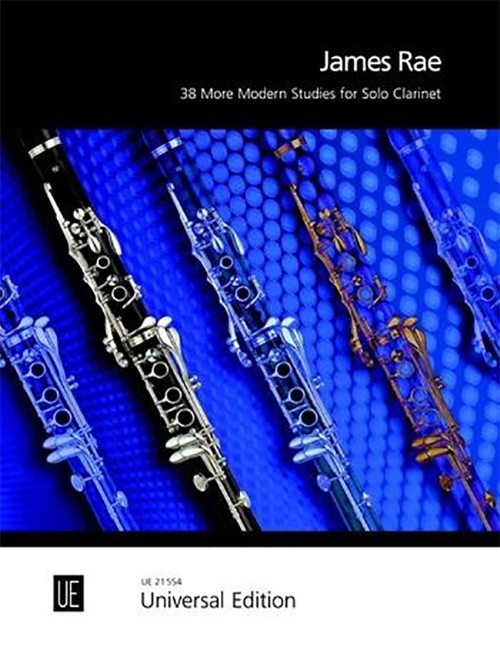 James Rae - 38 Modern Studies For Solo Clarinet