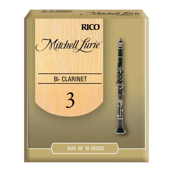 Bb Clarinet Reed Strength 2.5 Single Reed RICO