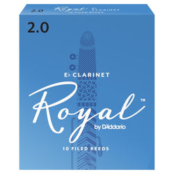 Royal by D'Addario Eb Clarinet Reeds Box of 10