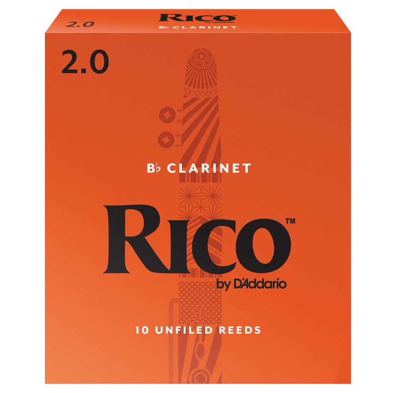 Rico by D'Addario Bb Clarinet Reeds Box of 10