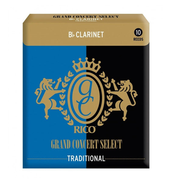 Rico Grand Concert Select Traditional Bb Clarinet Reed