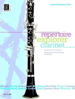 James Rae - Repertoire Explorer For Clarinet Book 2