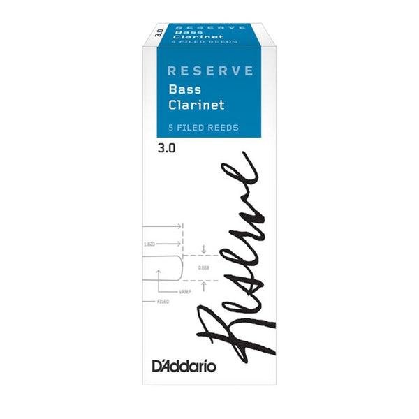 D'Addario Reserve Bass Clarinet Reeds - Single