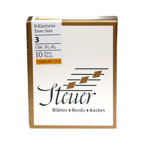 Steuer French Cut Bb Clarinet Reeds